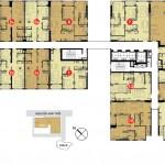 Tháp 1- Tầng 6 – Tầng 22 căn hộ The Prince