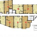 Tháp 2- 8 tầng căn hộ The Prince