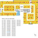 Tháp 1- Tầng 1,2,3,4 -Trung tâm yêu thương mại, văn phòng SmartOffice