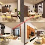 Cho Thuê căn hộ Prince 1 Pn 52m2- Tháp P1 giá 800$/tháng
