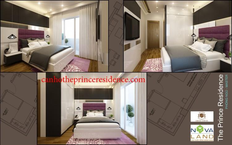 Cho thuê căn hộ The Prince 2PN 71m2