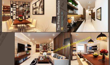 Cho thuê căn hộ The Prince 3 Pn 152m2