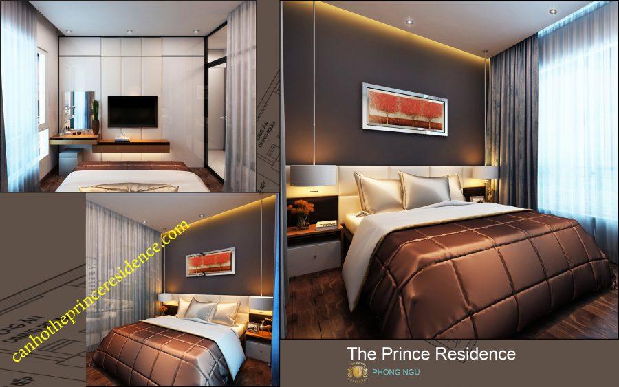 Cho thuê căn hộ The Prince 1 PN