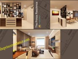 Cho thuê căn hộ Prince 152m2, 3PN-2wc, căn góc giá 1,500$/tháng