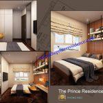 Cho thuê căn hộ The Prince 3Pn, 108m2, căn góc số 11 giá 32 triệu/tháng