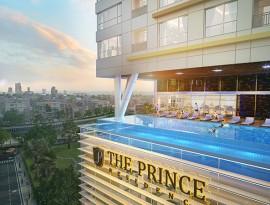 Hồ bơi tràn tầng 5- Siêu đẹp tại The Prince Residence